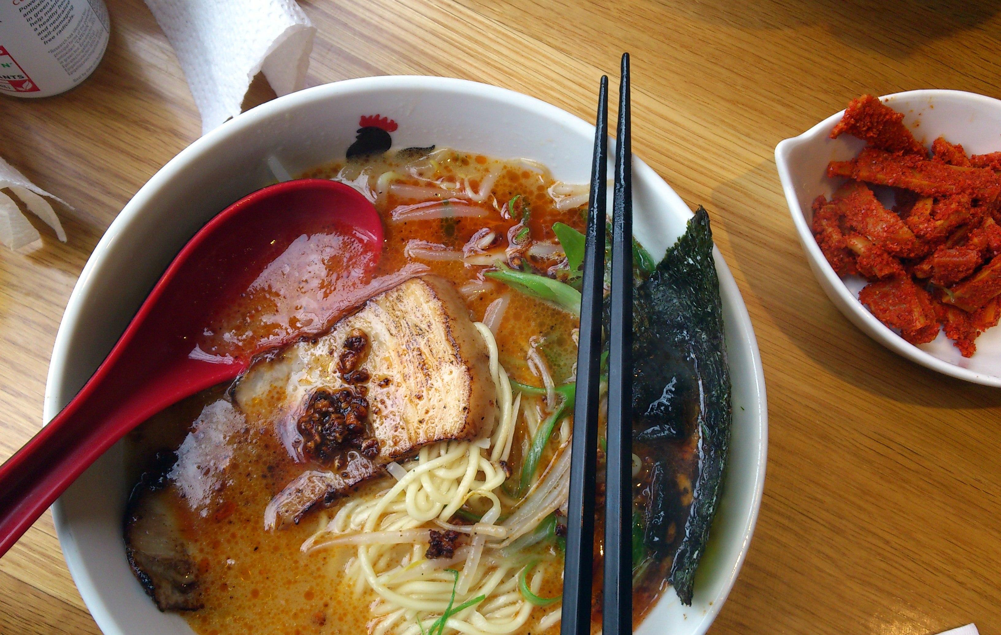 Ramen in Ginza