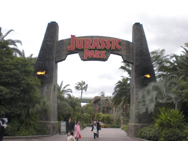 Theme Park for Kids and Jurassic Park
