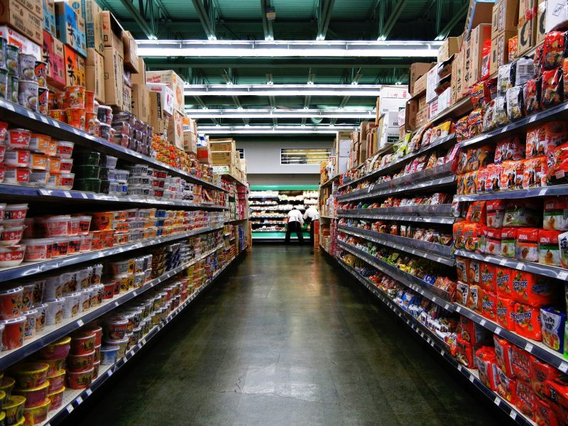 Ramen in supermarket