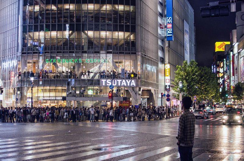 Image result for shibuya crossing starbucks