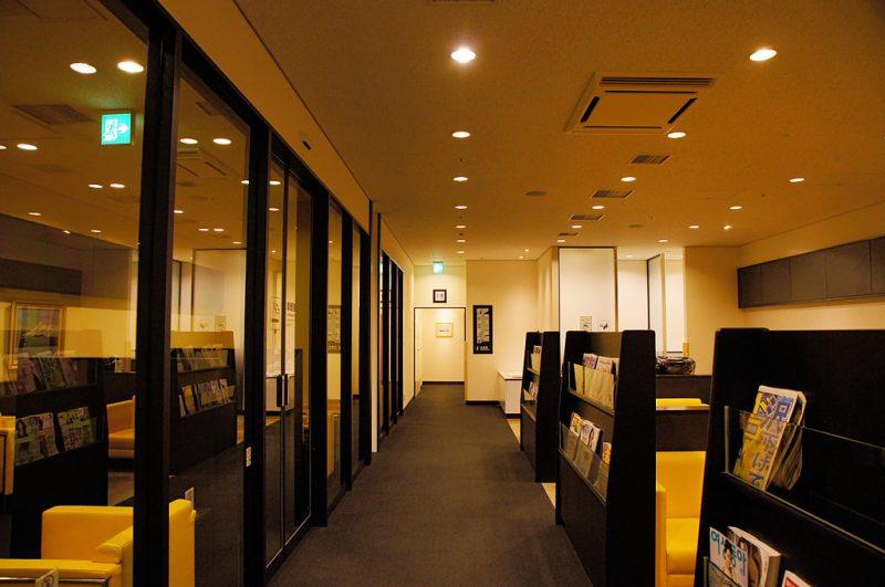 Hakodate Airport lounge