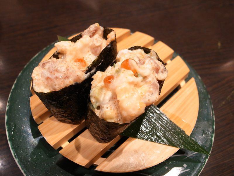 Avocado in Sushi