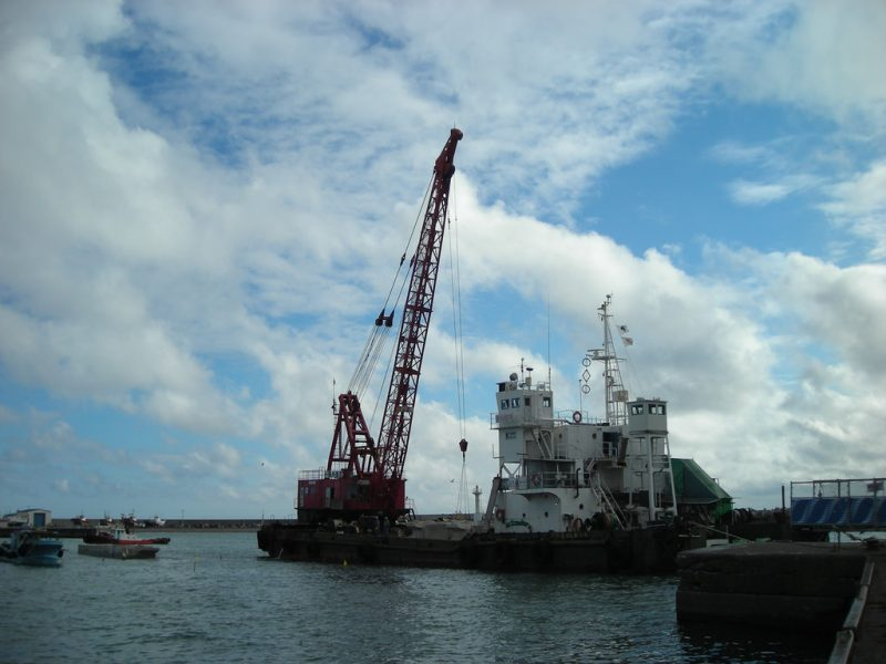Ports serve as an Industrial base to the city of Hokkaido