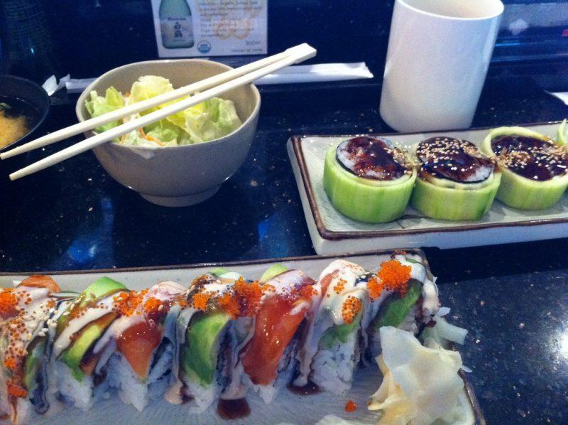 Cucumber in Sushi