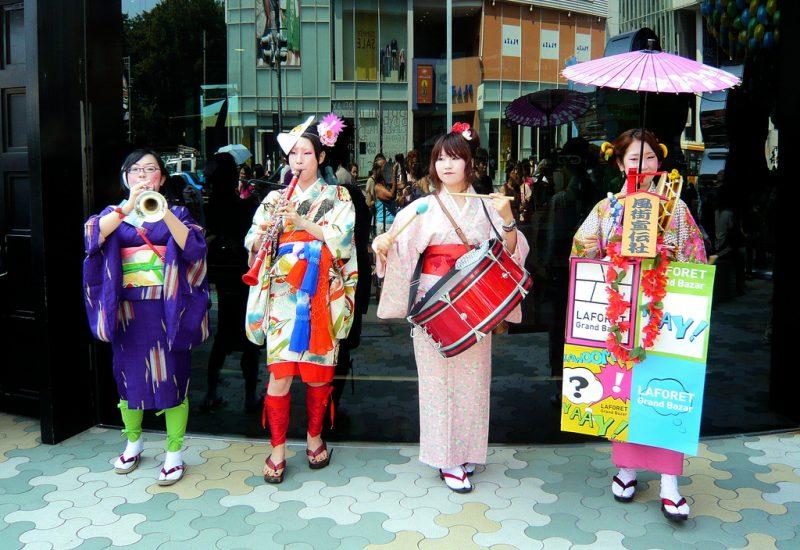 Laforet 'Chindon' Music Band - Harajuku