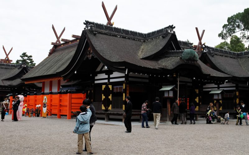 Visit Sumiyoshi Taisha Shrine in Osaka