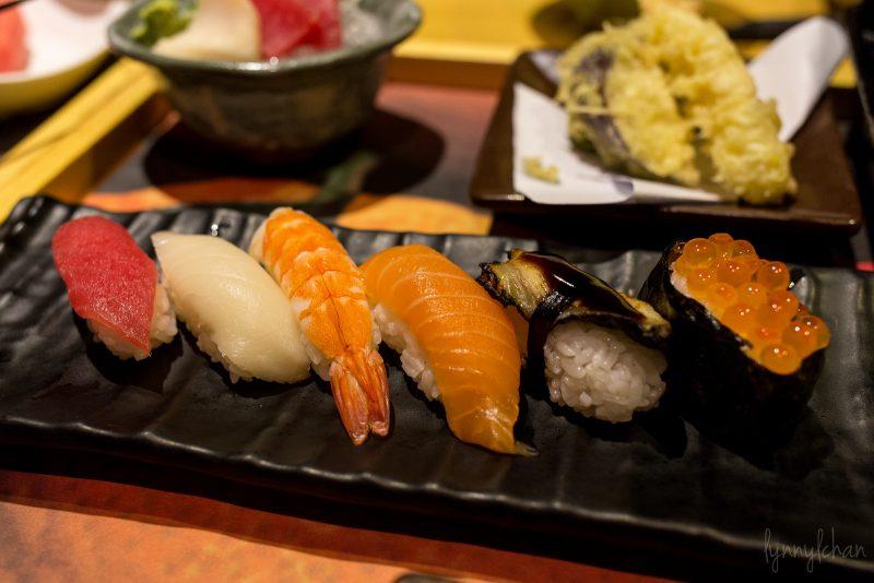 sushi in osaka