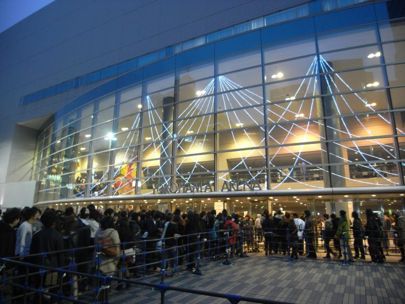 Concert at Yokohama Arena