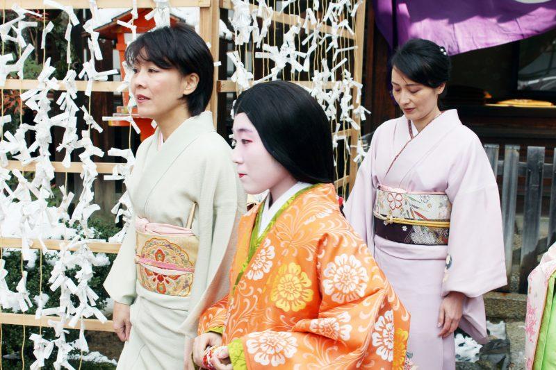 Kyoto Winter Maiko