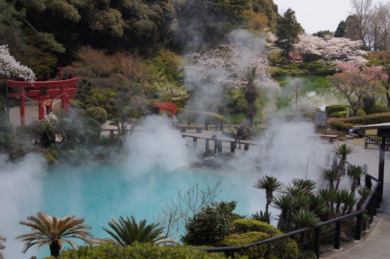 Kolam air panas di Jepang | Foto: Trip n travel