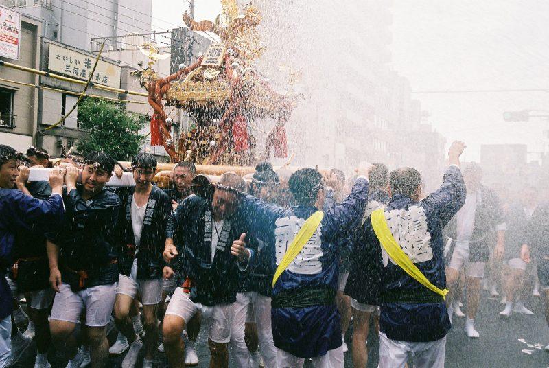 Fukagawa water festival