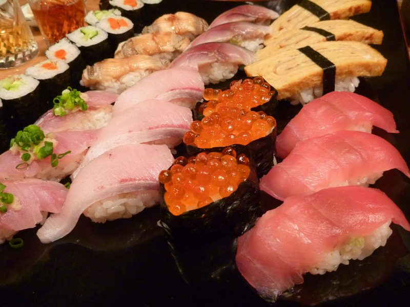 sushi, tokyo