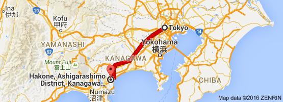 Go Hakone from Tokyo