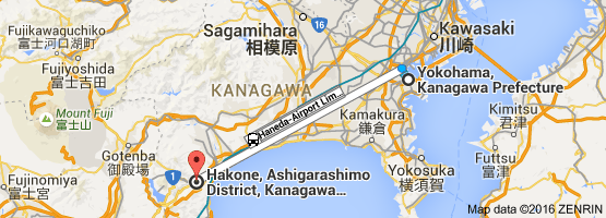 Go Hakone from Yokohama