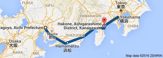 Go Hakone from Nagoya