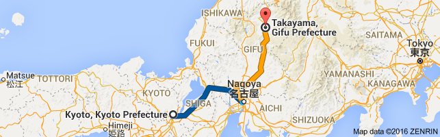 Go Takayama from Kyoto