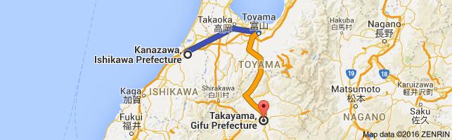 Go Takayama from Kanazawa