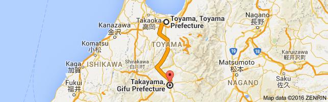 Go Takayama from Toyama