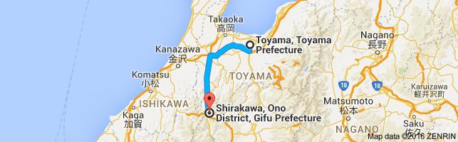 Go Shirakawa from Toyama