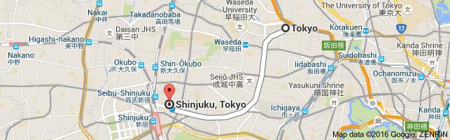 Go Shinjuku from Tokyo