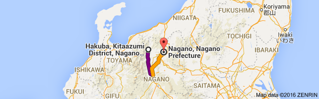 Go Nagano from Hakuba