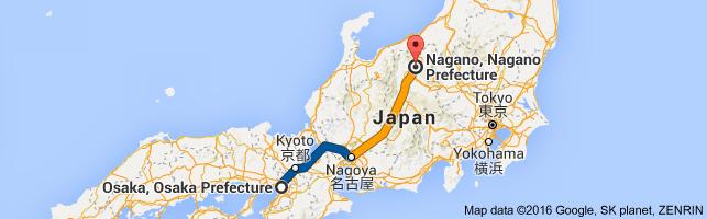 Go Nagano from Osaka