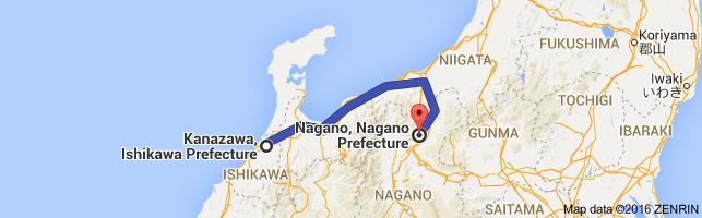Go Nagano from Kanazawa
