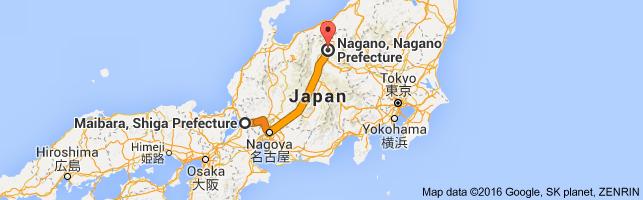 Go Nagano from Maibara
