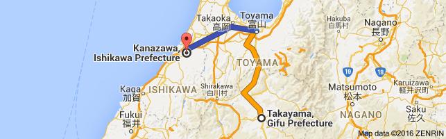 Go Kanazawa from Takayama