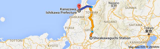 Go Kanazawa from Shirakawaguchi