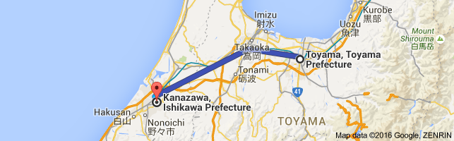 Go Kanazawa from Toyama