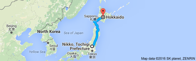 Go Hokkaido from Nikko