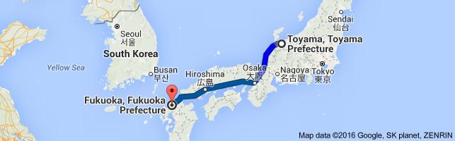 Go Fukuoka from Toyama