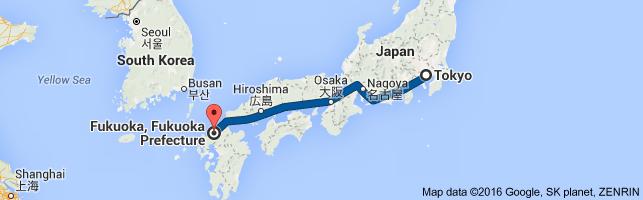 Go Fukuoka from Tokyo