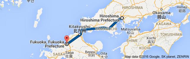 Go Fukuoka from Hiroshima