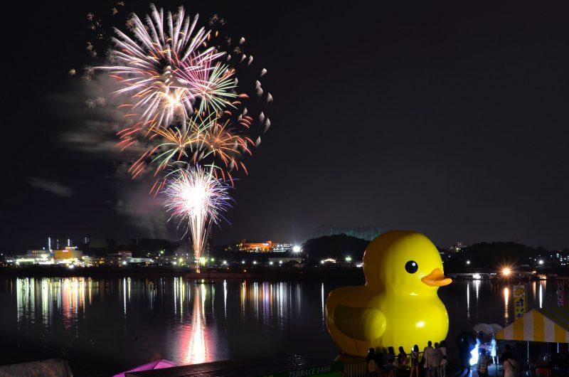 Osaka Spring Festival Fireworks