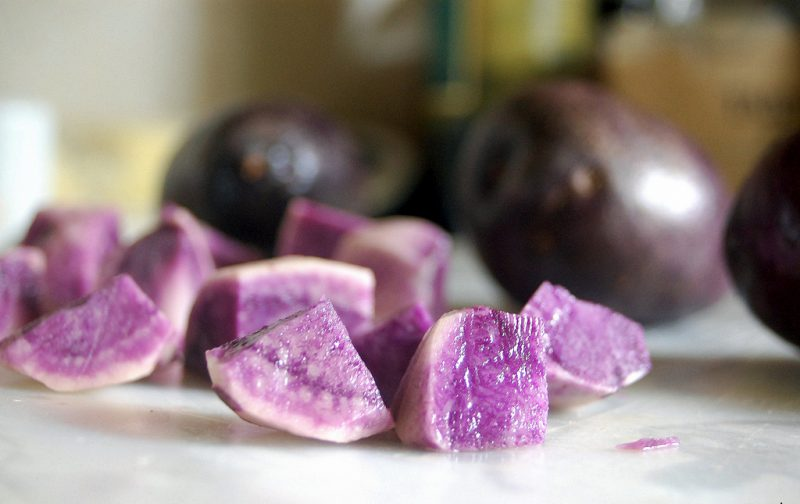 Okinawan sweet potato