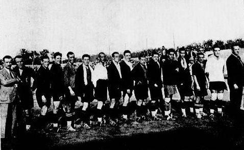 Real Murcia à Oran en 1929