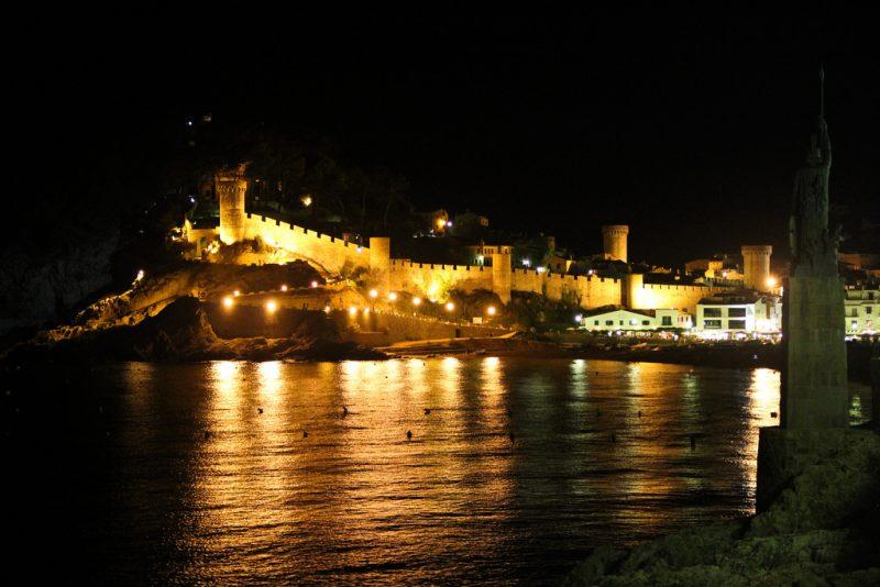 Tossa de Mar Night
