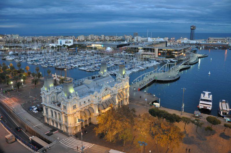 Barcelona port 3