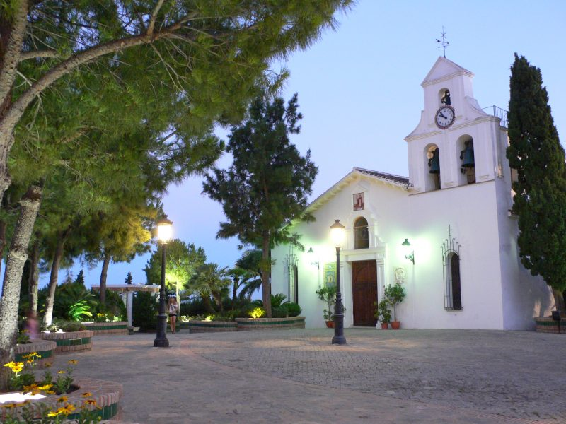 A Church in Benalmadena Pueblo