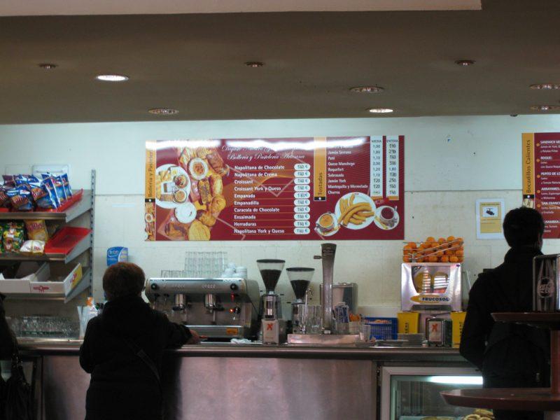 Granada Bus Station- Cafeteria