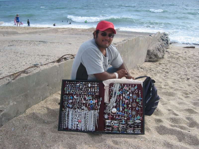 Salou Beach Vendor
