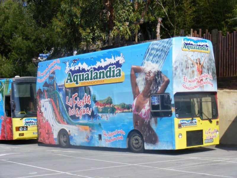 Aqualandia Bus
