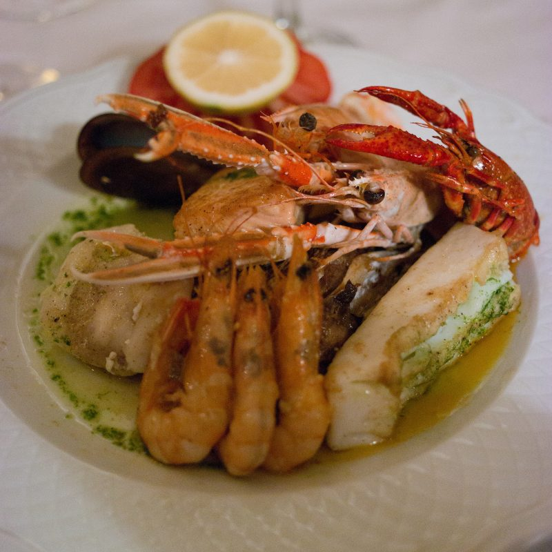 Marbella Grilled Seafood