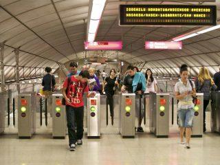 Bilbao Metro Station