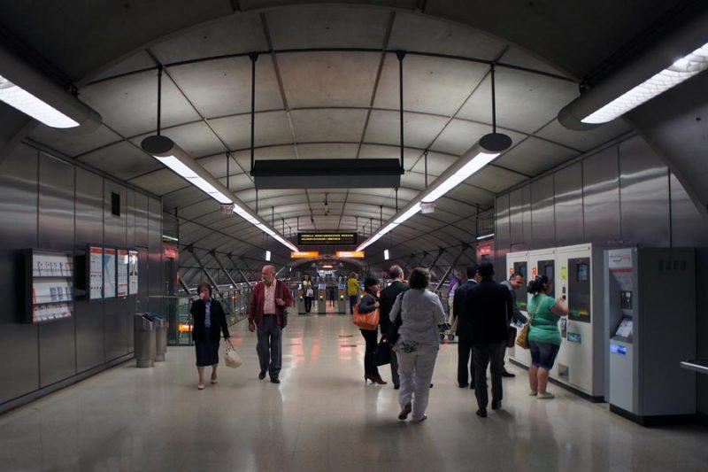 Abando station, Bilbao Metro