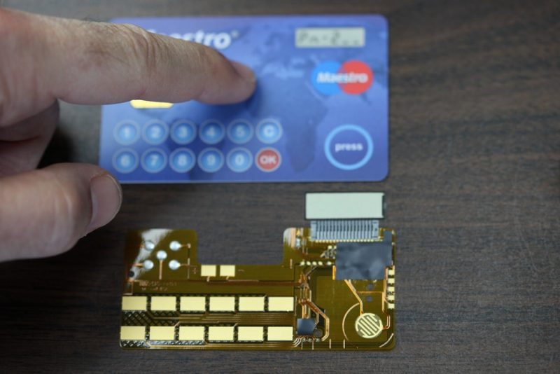 Credit Card New Technology