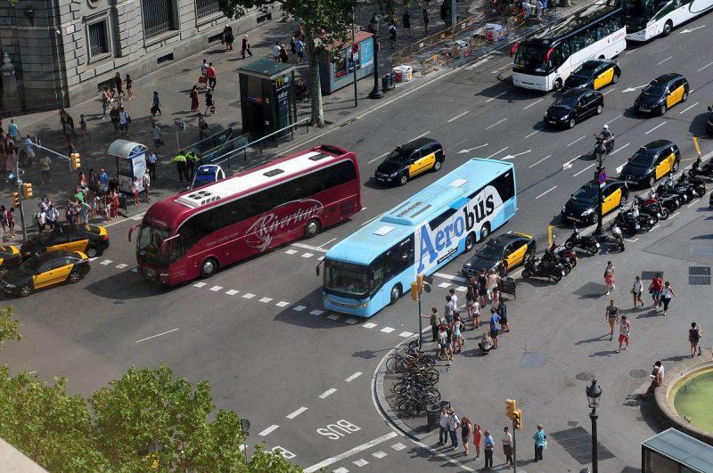 transport in barcelona