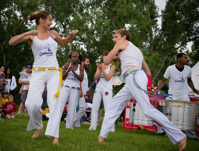 The Capoeira Dance